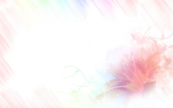 Hintergrund - zart und mehrfarbig mit Lilie