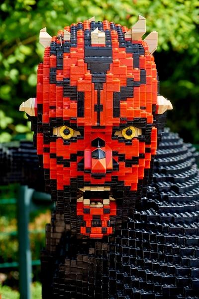 Darth Maul aus Legobausteinen
