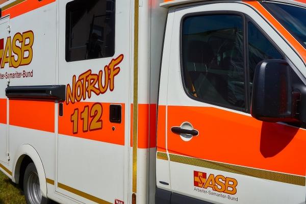 Krankenwagen Seitenansicht