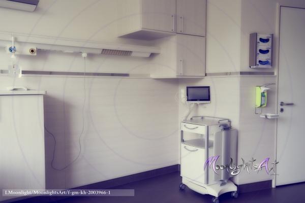 Krankenhaus - Zimmer - Pflege